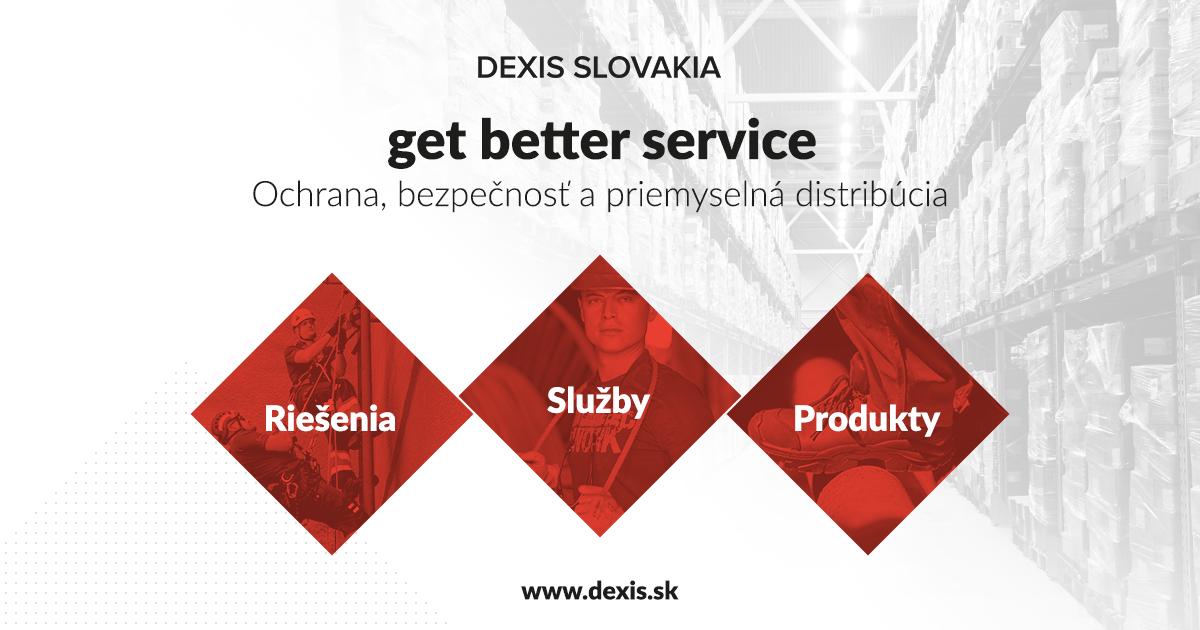 15c75665b92a2 Dexis | Ochrana, bezpečnosť a priemyselná distribúcia