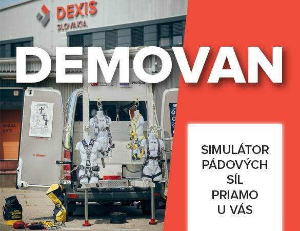 Objednajte si ZADARMO simulátor pádových síl