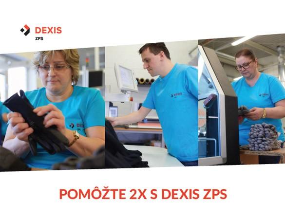 Pomôžte 2x s chránenou dielňou DEXIS ZPS